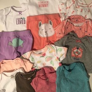 3 Month Childrens Clothing Lot 16 pieces